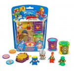 Super Zings Hideout blister 4 figurki