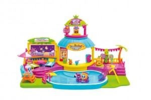 Moji Pops Playset Pool Party