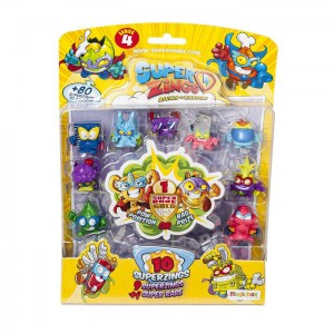 Super Zings 4 Blister 10 Pack 1 złota MagicBox