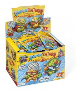 Super Zings Super Things seria 6 Saszetka z figurką Box 50 sztuk
