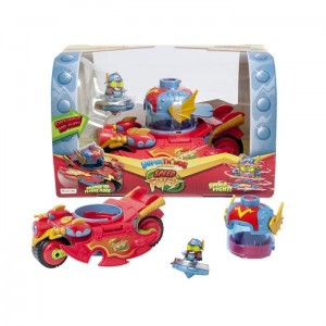 Super Zings Super Things Speed Fury pojazd i figurka Kid Fury
