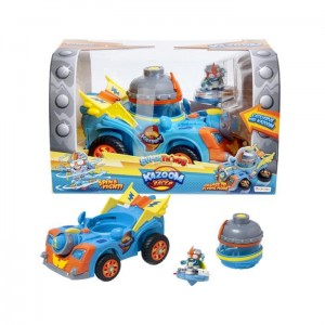 Super Zings Super Things Kazoom Racer pojazd i figurka Kid Kazoom