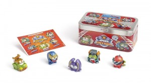 Super Zings Things seria 6 Secret Spies Speed Patrol Tin Puszka MagicBox