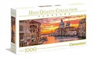 Clementoni 1000 elementów Panorama High Quality The Grand Canal - Venice