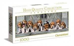 Clementoni 1000 elementów Panorama High Quality Beagles
