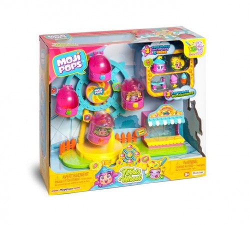 Moji Pops Playset Ferris Wheel